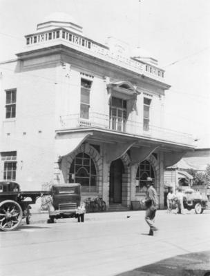 Foresters' Hall, Dickens Street, Napier; Moodie, Frank L