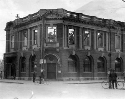 Union Bank, Heretaunga Street, Hastings; Moodie, Frank L