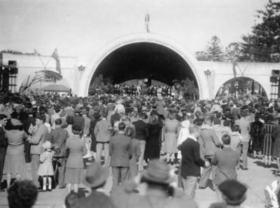 Soundshell, Marine Parade, Napier