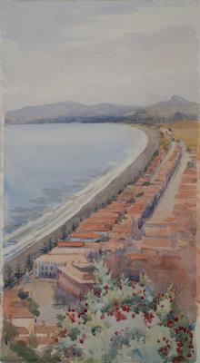 Napier Beach from Chequers 22-24 Dec 1928