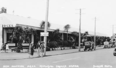 Tin Town, Memorial Square, Napier; Sorrell & Son