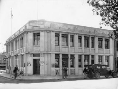 White's Building, Tennyson Street, Napier