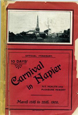 Booklet, Carnival in Napier