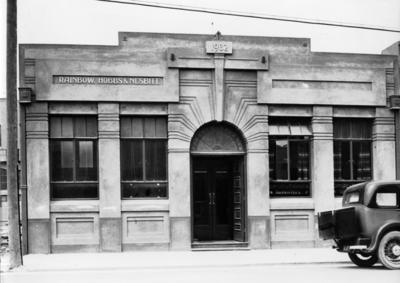 Rainbow, Hobbs and Nesbitt Building, Tennyson Street, Napier