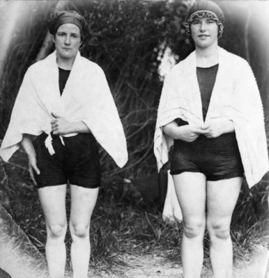 Women in Swimming Costumes