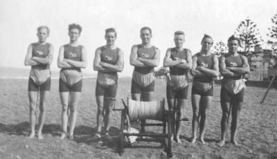 Te Awa Swimming and Life Saving Club Members, Marine Parade