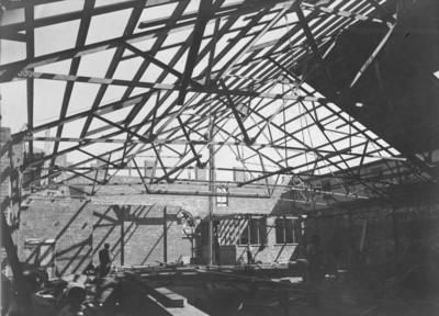 St Paul's Presbyterian Church, Dalton Street, Napier, under construction; Poll, Wallace