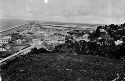 View of Napier from Bluff Hill; Valentine & Sons Limited; 56/28