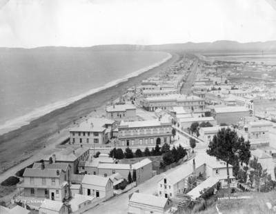 View of Napier from Bluff Hill