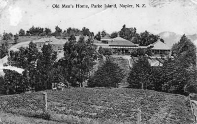 Old People's Home, Park Island, Napier