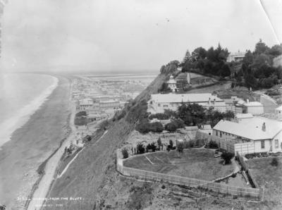 View of Napier looking south from Bluff Hill