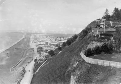 View of Napier looking south from Bluff Hill; Valentine & Sons Limited; 56/28