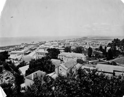 Napier from Napier Hill looking towards Cape Kidnappers; Carnell, Samuel; 56/28