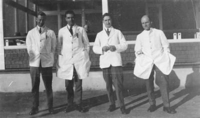 House Surgeons, Napier Hospital