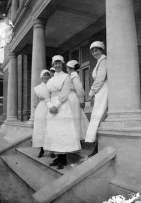 Nurses, Napier Hospital