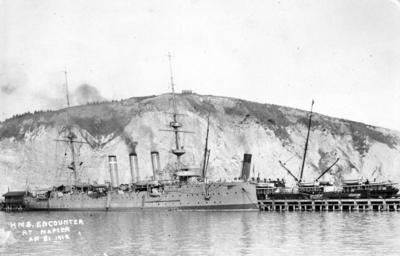 HMS Encounter at Napier