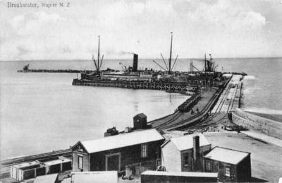 Napier Breakwater and Port