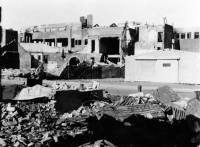 Damaged buildings, Hawke's Bay