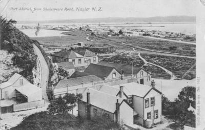 Port Ahuriri from Shakespeare Road, Napier