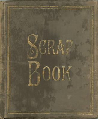 Scrapbook, photographs of Ormondville