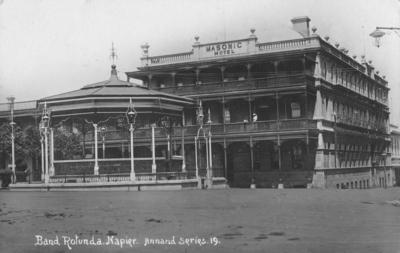 Masonic Hotel, Marine Parade, Napier; Frank Duncan & Co