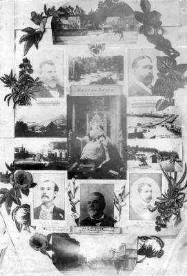 Collage, Queen Victoria's Diamond Jubilee