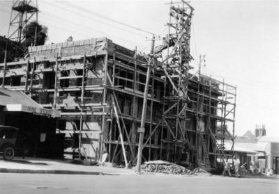 Reinstatement of the Napier Central Fire Station; Williams, David Godfrey