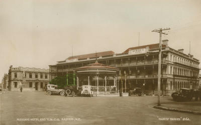 Masonic Hotel and YMCA, Napier