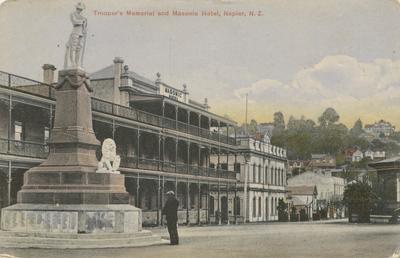 Trooper's Memorial and Masonic Hotel, Napier