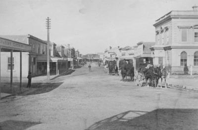 Hastings Street, Napier; Williams, F W
