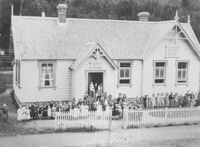 Napier Girls School, Tennyson Street, Napier