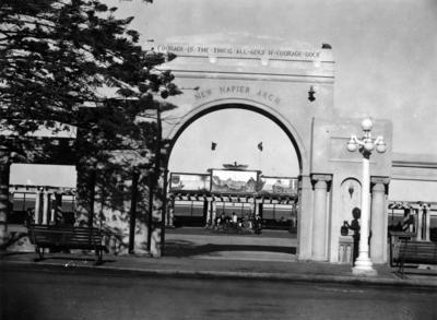 New Napier Arch, Marine Parade, Napier