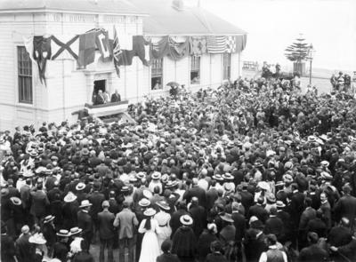 Proclamation of Edward VII; Sorrell, Charles Hudson Cunningham