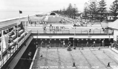 Municipal Baths, Napier; Hurst, Arthur Bendigo