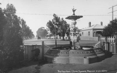 Fountain, Clive Square, Napier
