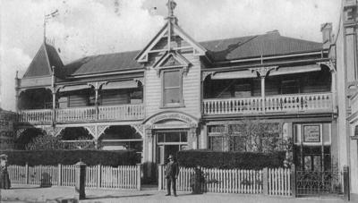 Working Men's Club, Emerson Street, Napier