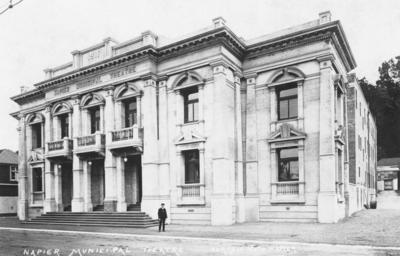 Napier Municipal Theatre, Tennyson Street, Napier; Sorrell & Son
