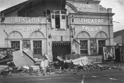 Gaiety Theatre, Dickens Street, Napier