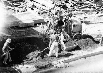 Construction site, Hawke's Bay