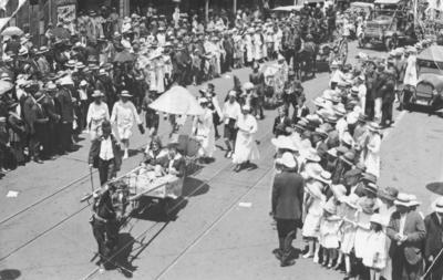Napier Mardi Gras; Sorrell, Percy Caz