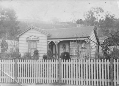 Police Station, Napier