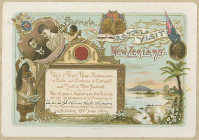 Invitation, Duke and Duchess of Cornwall and York Reception