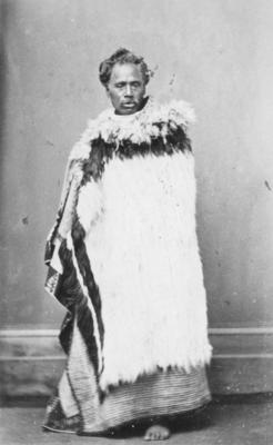 Portrait of an unidentified man, Māori