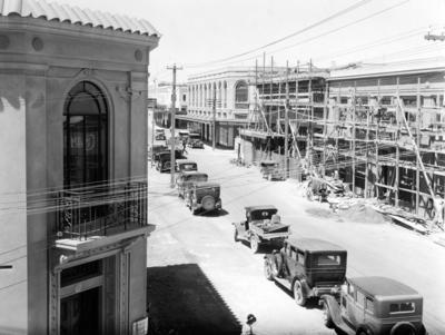 Rebuilding in Napier central business district