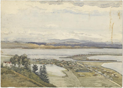 Untitled - Westshore from Bluff Hill, Napier