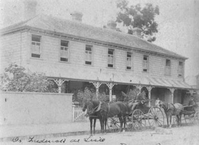 Home of Dr Frederic de Lisle, Tennyson Street, Napier; Sorrell & Son