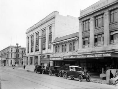 Hastings Streets, Napier