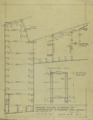 Architectural Plan, Ellison and Duncan Limited