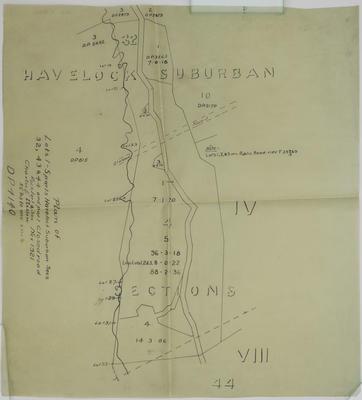 Plan, lots 1 - 5 Havelock North