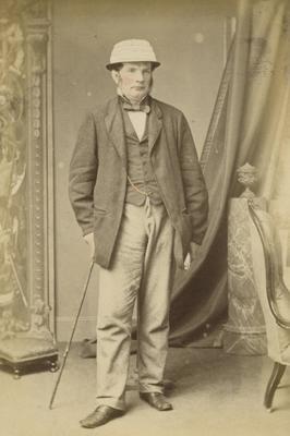 Portrait of Sir Donald McLean